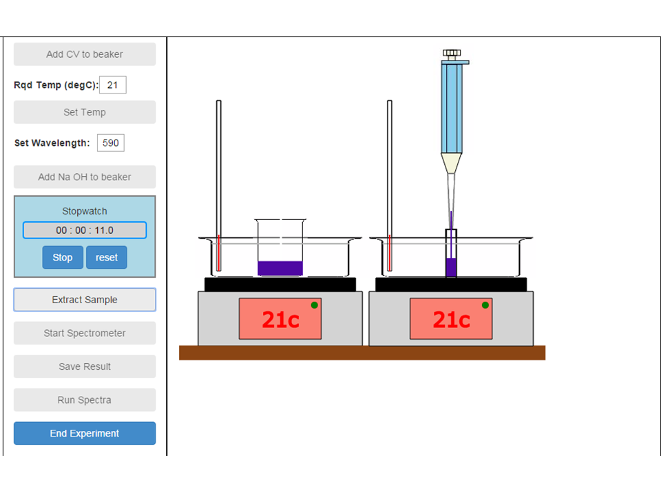 Sim4Web: Example wet bench