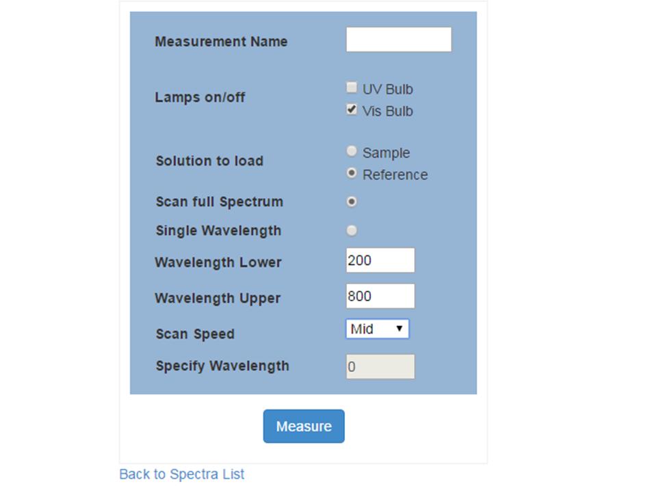 Spectrometer Controller